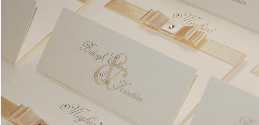 Balogh Edina esküvői meghívó